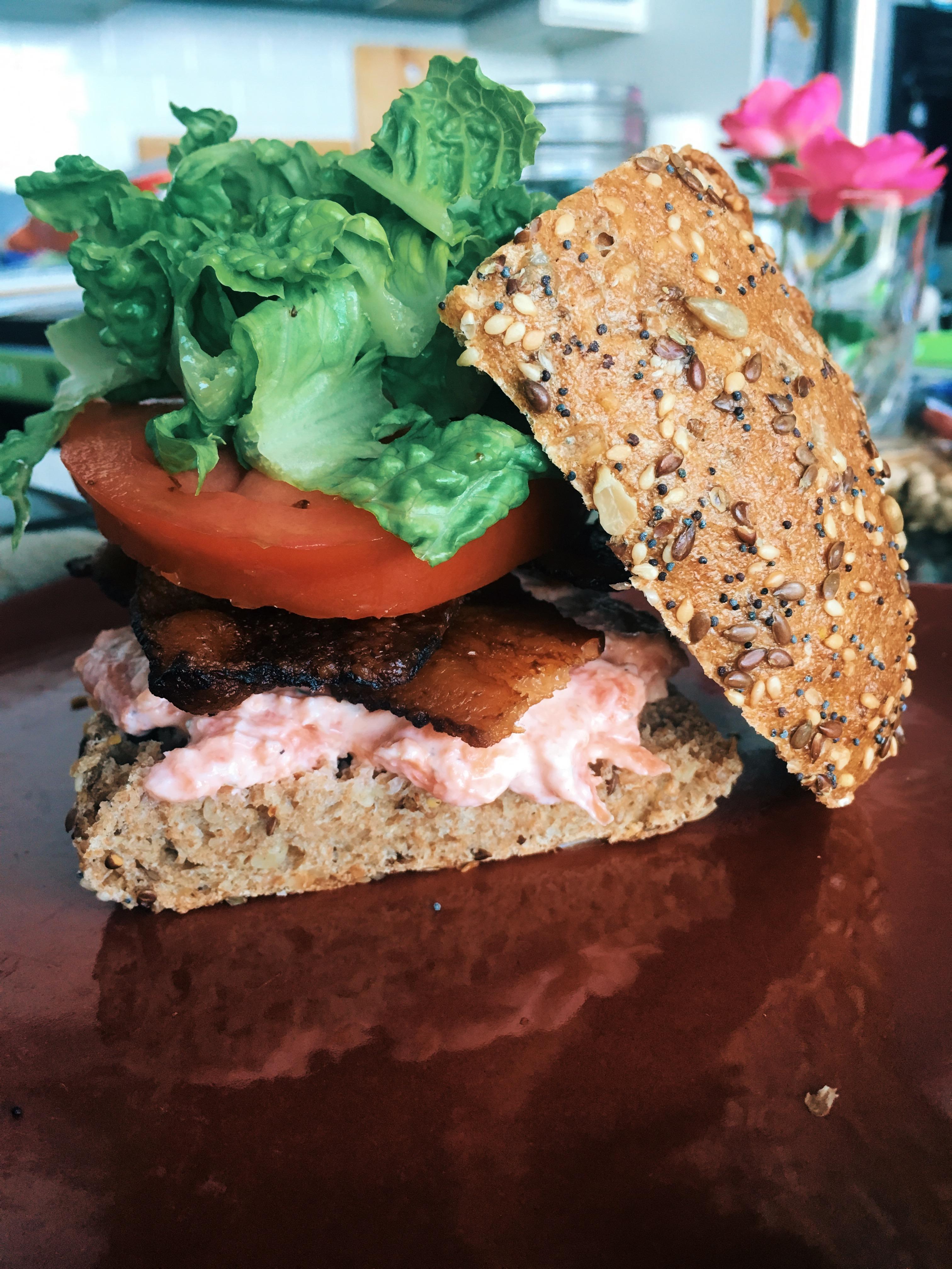 Feelin' Fancy: Smoked Salmon BLT Recipe