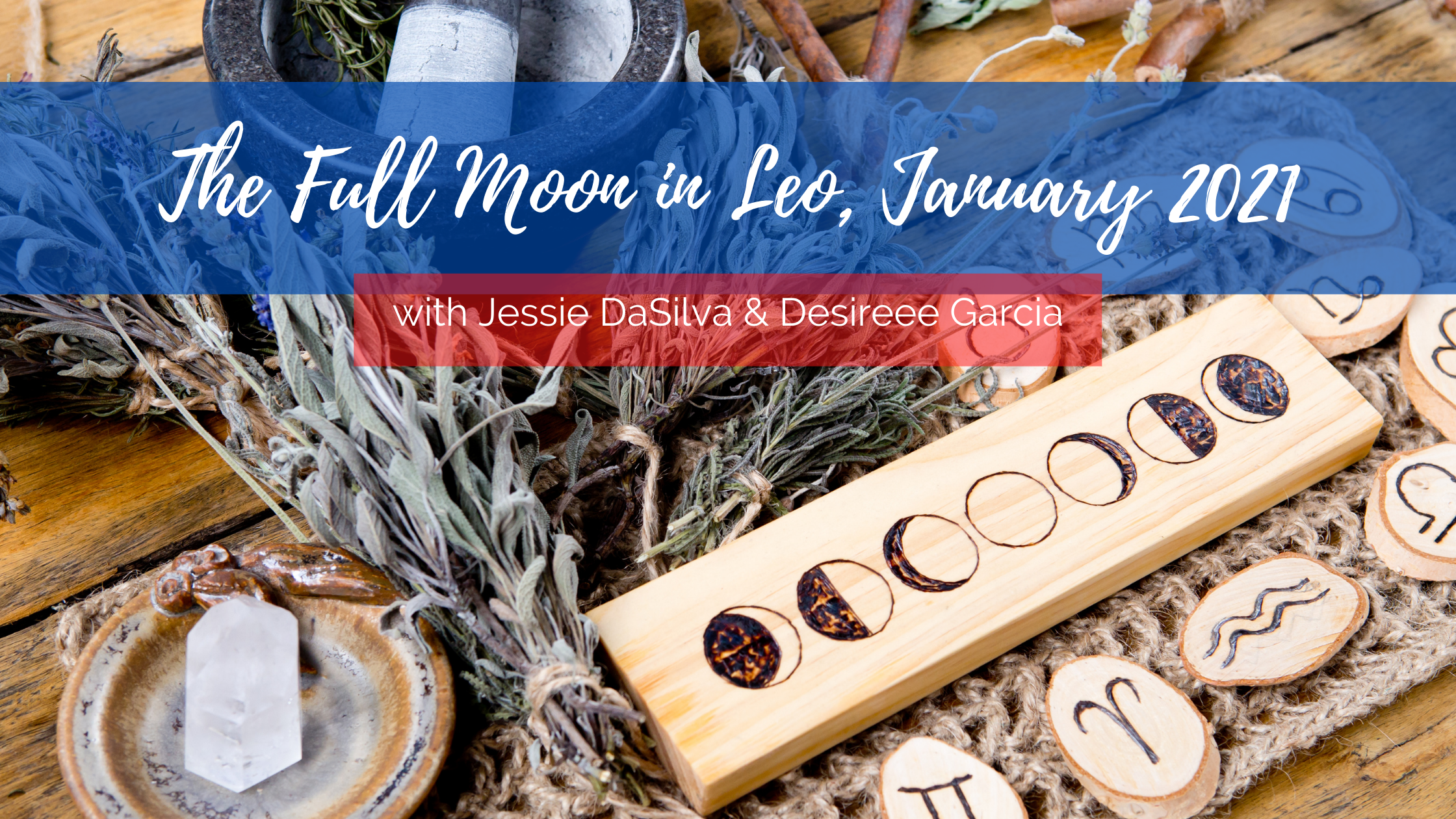 How to use the January 2021 full moon in Leo